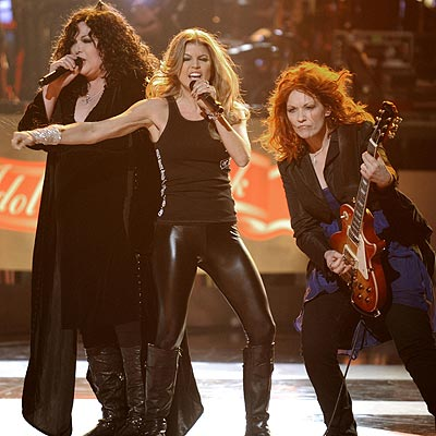 HEART & SOUL  photo | Heart, Fergie, Nancy Wilson (Musician - Heart)