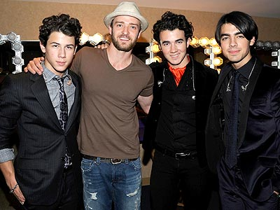 HE'S WITH THE BAND photo | Justin Timberlake