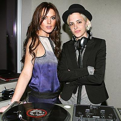 SOLID SCENESTERS photo | Lindsay Lohan, Samantha Ronson