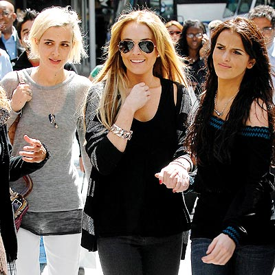 N.Y.C. SISTERS photo | Ali Lohan, Lindsay Lohan, Samantha Ronson