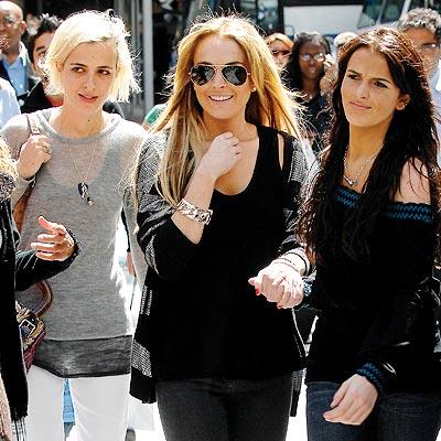 N.Y.C. SISTERS photo | Ali Lohan, Lindsay Lohan, Samantha Ronson