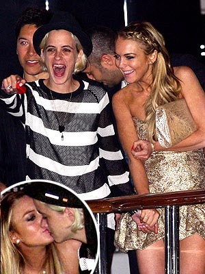 CRUISE PARTNERS photo | Lindsay Lohan, Samantha Ronson