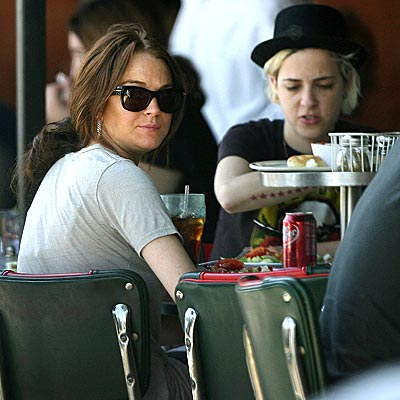 LUNCH BUNCH photo | Lindsay Lohan, Samantha Ronson