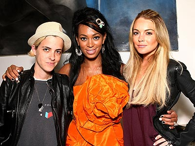 BIRTHDAY BUDDIES photo | Lindsay Lohan, Samantha Ronson