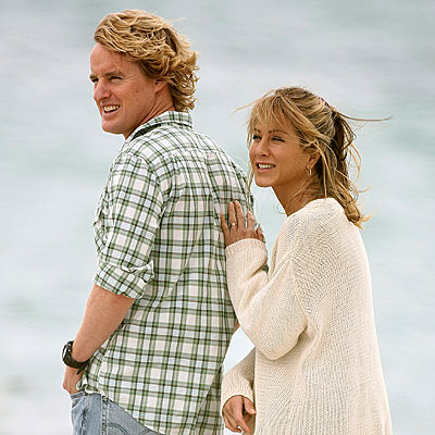 A TOUCHING DISPLAY photo | Jennifer Aniston, Owen Wilson