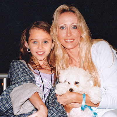 2002 photo | Miley Cyrus