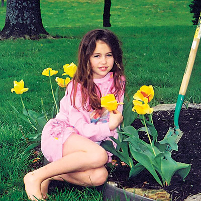 2001 photo | Miley Cyrus