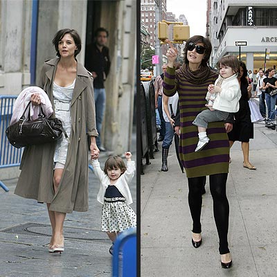 KATIE HOLMES: THE FASHION PLATE photo | Katie Holmes, Suri Cruise
