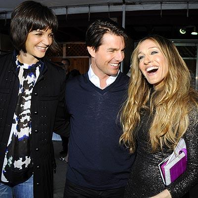STAR CLUSTER photo | Katie Holmes, Sarah Jessica Parker, Tom Cruise