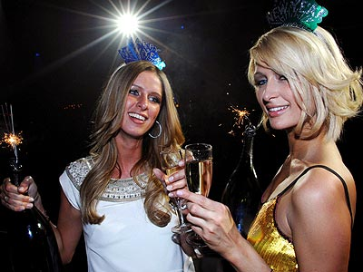 PARISIAN PARTY  photo | Nicky Hilton, Paris Hilton
