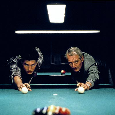 THE COLOR OF MONEY photo | Paul Newman, Tom Cruise