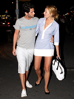 blake lively and penn badgley recent. Blake Lively, Penn Badgley