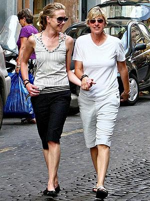 PORTIA & ELLEN photo | Ellen DeGeneres