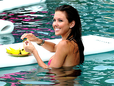 SNACK ATTACK  photo | Audrina Patridge