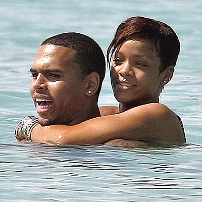 ISLAND GETAWAY photo | Chris Brown, Rihanna