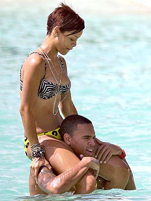 VIEW FROM THE TOP photo | Chris Brown, Rihanna