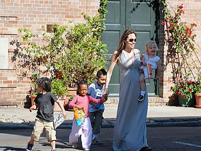 NEW ORLEANS photo | Shiloh Jolie-Pitt