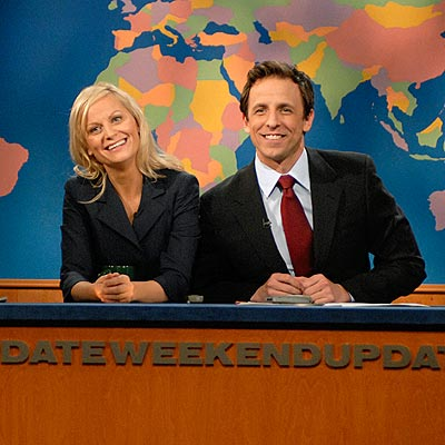 SETH MEYERS photo | Amy Poehler, Seth Meyers