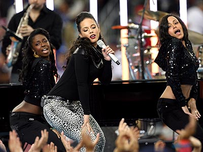 alicia keys superbowl