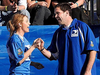 SECRET HANDSHAKE photo | Blake Lively, Matt Leinart