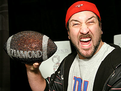 HAVING A BALL photo | Joey Fatone