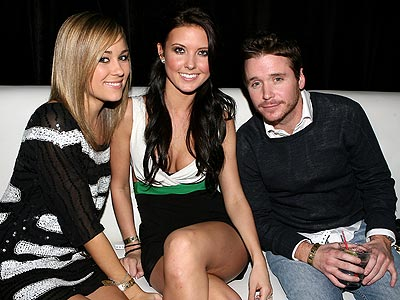 THREE'S COMPANY photo | Kevin Connolly, Lauren Conrad
