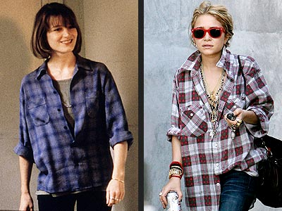 PLAID SHIRTS photo | Bridget Fonda, Mary-Kate Olsen