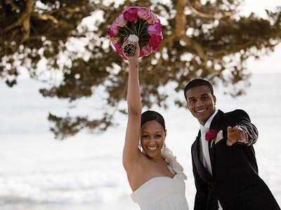 MEET THE NEWLYWEDS photo | Tia Mowry