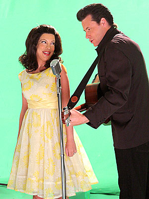 June Carter & Johnny Cash  photo | Dean McDermott, Tori Spelling