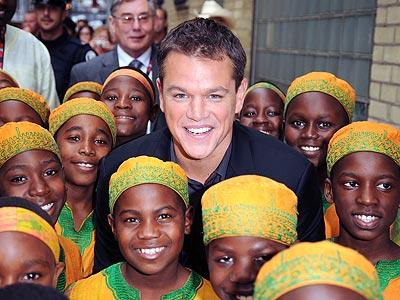 REVEL WITH A CAUSE photo | Matt Damon