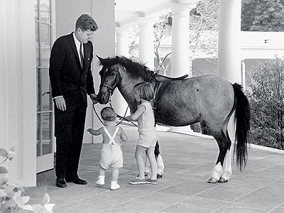 THE FIRST PET photo | John F. Kennedy, John F. Kennedy Jr.