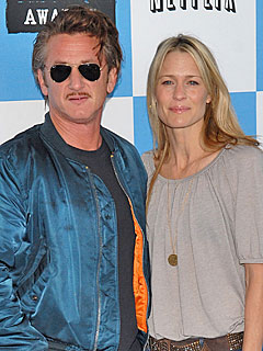 Sean Penn & Robin Wright
