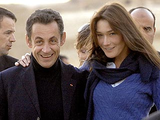 French Prez & Model: Already Married? | Carla Bruni