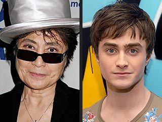 Stars Donate Eyeglasses to Holocaust Exhibit | Daniel Radcliffe, Yoko Ono