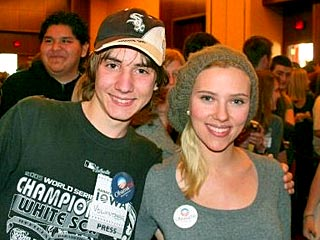 Scarlett Johansson and Chuck Norris: Political Power Players?