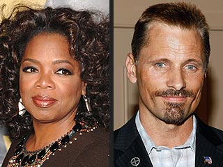 Stars Split in Presidential Race | Oprah Winfrey, Viggo Mortensen