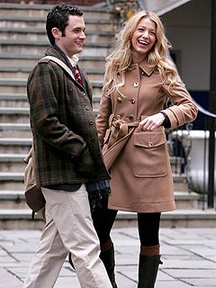 Blake Lively and Penn Badgley: Just Friends