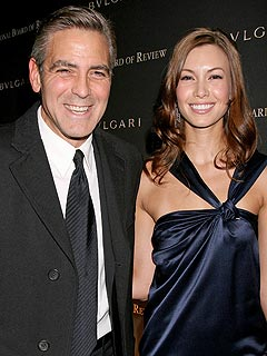 George Clooney Plays Director at Awards Show | George Clooney
