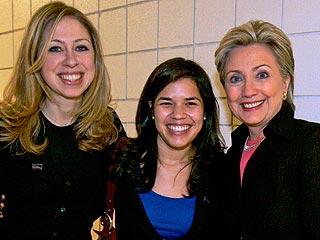 America Ferrera, Amber Tamblyn Back Hillary Clinton