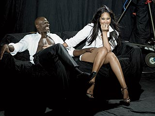 Kimora & Djimon Talk About Their Romance | Djimon Hounsou, Kimora Lee Simmons