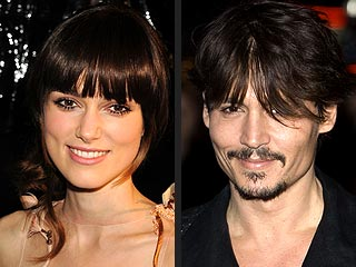 Atonement, Sweeney Todd Take Home Globes   Johnny Depp, Keira Knightley
