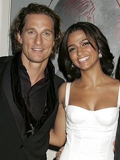 Matthew McConaughey and Camila Alves Bring Levi Home | Matthew McConaughey