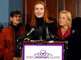 Marcia Cross: My Baby Girls Could Be President