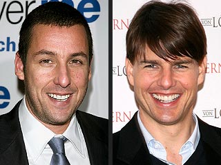 Adam Sandler: Stop Picking on Tom Cruise