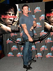 Sly Defends Human Growth Hormone as Rambo Returns   Sylvester Stallone