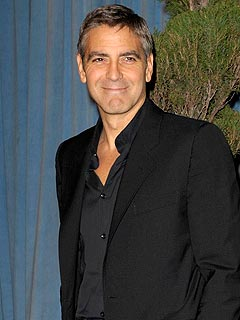 George Clooney&#39;s Guys&#39; Night Out
