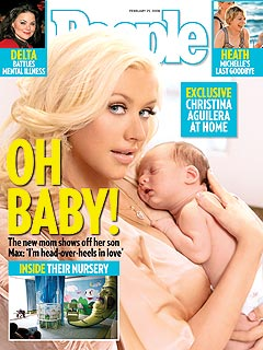 PEOPLE PHOTO EXCLUSIVE: Christina Aguilera & Baby!