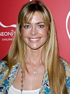 Denise Richards Coy About Charlie Sheen Troubles