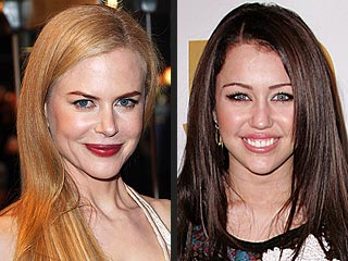 Miley Cyrus, Nicole Kidman Among Oscar Presenters | Miley Cyrus, Nicole Kidman