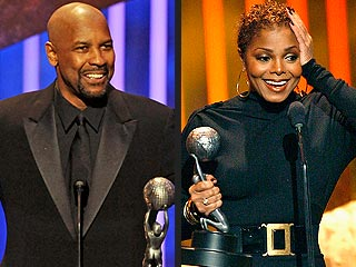 Denzel Washington, Janet Jackson Win NAACP Prizes | Denzel Washington, Janet Jackson